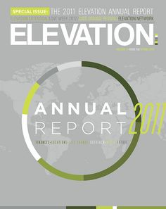 Annual Report Cover by ryan.sworth, via Flickr