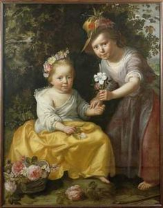 Pastoral Portrait of two young Girls, 1622 by Paulus Moreelse   Centraal Museum Utrecht
