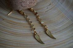 Boucles d'oreilles dorées créatrice Sur le nuage de Meije A shopper dès maintenant sur le concept store Worldwide free shipping www.o-some.com