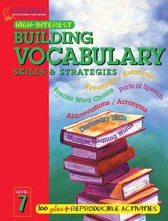 Building Vocabulary Skills and Strategies Level 4 by ned deny - issuu English Grammar Book Pdf, English Grammar Worksheets, English Language Learning, English Book, English Words, English Lessons, English Vocabulary, Teaching English, Learn English