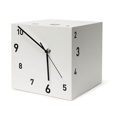 Tothora Box table clock - hand made - enjoy time in a different way.