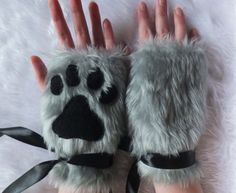 These faux fur fingerless gloves. | 31 Fluffy Things That'll Restore Your Faith In Winter