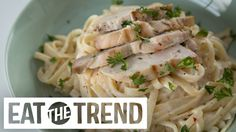 Guilt-Free Creamy Chicken Alfredo WIth Donal Skehan | Eat the Trend