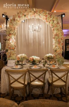 Butterfly Floral Events Event Planners at the Pasadena Langham Hotel.. Photo by Gloria Mesa Photography #Idoevents  #landhampasadena #gloriamesaphotography