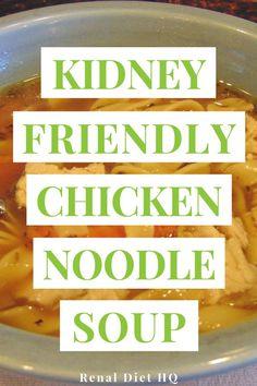 Dialysis Diet, Renal Diet, Healthy Kidney Diet, Kidney Health, Kidney Foods, Healthy Food, Low Sodium Soup, Low Sodium Foods, Low Potassium Recipes