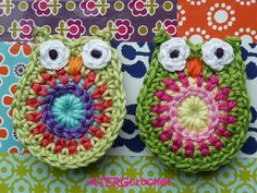 crochet + owls, two things i love