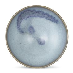 A LARGE 'JUN' PURPLE SPLASHED BOWL<br>SONG TOMING DYNASTY, 21.9 cm., 8 5/8 in | lot | Sotheby's