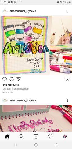 Cute Notebooks, Selena, Teaching Ideas, Neon, Map, Lettering, School, Frases, Sketchbook Cover