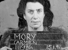 """Carmen Maria Mory was a Swiss Gestapo double agent, who was convicted of heinous crimes, including 60 murders, in the Hamburg Trials. She was born to an English doctor Ernest Emil Mory and his Pinay patient, Leona Bischoff. Carmen earned the unflattering nickname of """"The Black Angel of Ravensbrück"""". #kasaysayan #HERstory"""