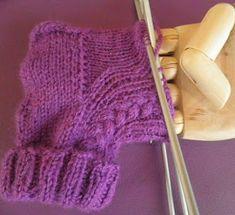 ARTES-ANAS: CALCETINES 5 AGUJAS,TALÓN Y CAZUELA, (2 DE 3) Fingerless Gloves, Arm Warmers, Crochet, Socks, Fashion, Knit Socks, Fuzzy Slippers, Crochet Socks, Knitting Needles
