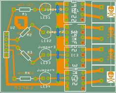 Building a Four Channel SolidState Relay: the PCB