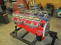 R   Chevy V12 Commercial engine