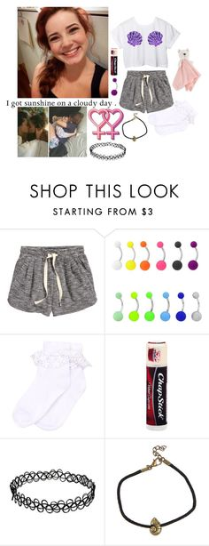 """""""*wandering around camp; sleepy* { Erin }"""" by we-are-the-poisoned-youth ❤ liked on Polyvore featuring H&M, Disney, Monsoon and Chapstick"""