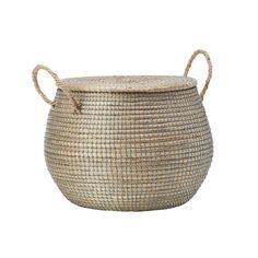 Lymy-kori Basket Tray, Korn, Natural Materials, Straw Bag, Vietnam, Hopea, Collaboration, Coastal, Salt