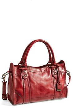 Frye 'Melissa' Washed Leather Satchel available at #Nordstrom