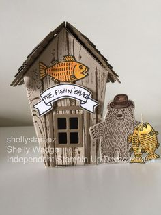 2016  'The Fishin' Shack'   Created by Shelly Wadge using the  new Sweet Home bundle
