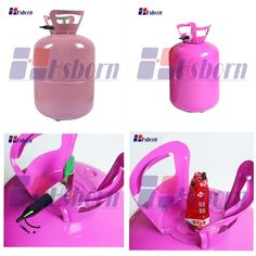 Helium gas tanks are mainly used for filling helium, has higher safety and operability.It is widely used for wedding, party and other activities to fill the balloon and toys to decorate.It is suitable for non-professional family and personal use. Helium Gas Cylinder, The Balloon, Tanks, Fill, Balloons, Safety, Water Bottle, Activities
