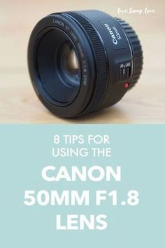 Today I'm going to share some tips for using the Canon 50mm F1.8 lens.I know that many of you will have this lens, because it's probably the one that most people go for when upgrading from their kit lens. When I first got this lens a few years ago, I would hear about the quality of it for the price and how tack-sharp my images were going to be, but they weren't, in fact every single one looked downright soft! So the lens got shoved back into my camera bag and forgotten about. But not Dslr Photography Tips, Photography Cheat Sheets, Photography Lessons, Photography Equipment, Photography Tutorials, Photography Business, Love Photography, Digital Photography, Wildlife Photography