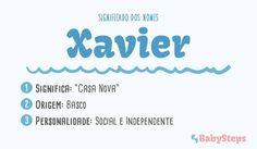 #Xavier #babysteps #significado #nomes #rapaz #bebés