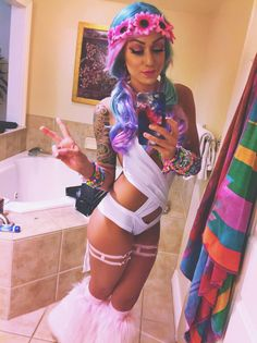 Under the electric sky edc outfit