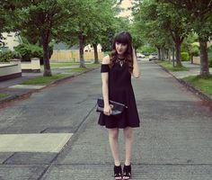 OOTN- Little Black Dress | oh hey there rachel All Black, Lifestyle Blog, Shirt Dress, My Style, Shirts, Beauty, Dresses, Fashion, Vestidos