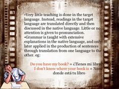 Grammar Translation Method: Description, history and example of a lesson using this method. What Is Grammar, Grammar Rules, Comprehension Questions, Reading Comprehension, Foreign Language Teaching, Teaching Methodology, English Grammar Worksheets, Language And Literature, Reading Passages