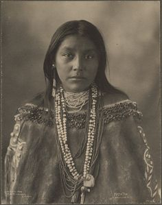 Hattie Tom, Apache, photographed by Frank A. Rinehart, 1899
