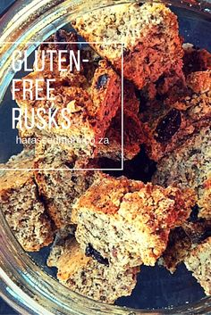 A trip to my mom is not complete without her gluten-free rusks. This time we made them when we got here. This is not a particularly cheap recipe but is well worth it every once in a while and it does make a lot so they will last a while. Gf Recipes, Gluten Free Recipes, Cheap Recipes, Spinach Recipes, Healthy Recipes, Recipies, Dessert Recipes, Gluten Free Cooking, Gluten Free Desserts