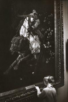 Martine Franck Museo Pushkin, Moscú, URSS, 1972 De Martine Franck: Una noche a la mañana