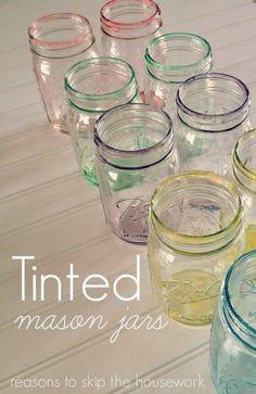 Love Mason Jars!