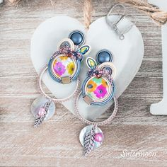 Soutache Earrings, Boho Earrings, Gifts For Women, Gifts For Her, Chan Luu, Organza Bags, Natural Leather, Hermes, Jewelry Box