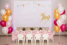 It couldn't be different, my first post will be all about the birthday party I organize for my little Chloé ! Working with Events for children since 2014, my dream came true now when I had th…