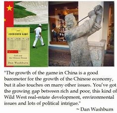 DC-Jockularity: China's War on Golf