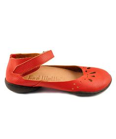 Brick Happiness Rosa Ankle Flat by Gee' WaWa Footwear