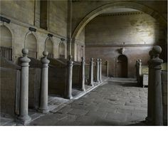 I could die for a barn like this...Stables at Seaton Delaval Hall Northumberland England