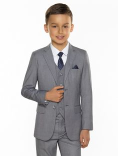 Shop for the limited edition boys dove grey Philip suit at Roco. Perfect as a boys page boy outfits with free UK delivery & 30 day returns.