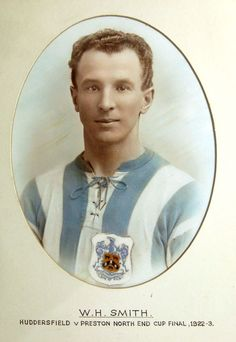 Bill Smith of Huddersfield Town in Huddersfield Town Fc, Bristol Rovers, Fa Cup Final, Corinthian, World History, Football, Terriers, 1920s, Soccer