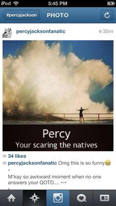 Percy....Percy...Percy...