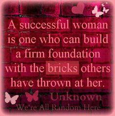 A Successful Woman....
