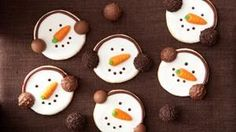Rezept Schneemann-Kekse