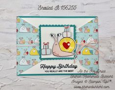 Fun Fold Cards, Meet The Team, Paper Pumpkin, Snail Mail, Old And New, Happy Birthday, Birthday Ideas, Stampin Up, Card Making