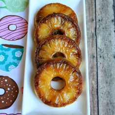 Seriously. I L-O-V-E donuts! Pineapple Upside Down Cake Donuts