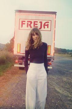 Freja Beha Erichsen H&M Studio Collection (Vogue.co.uk)