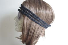 Boho Headband Women's Hair Wrap Knit Fashion by yagmurhat on Etsy, $5.00