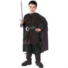 Boys Aragorn Lord of The Rings Costume