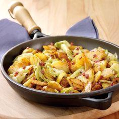 Bratkartoffelpfanne mit Spitzkohl Rezepte | Weight Watchers