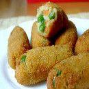 Croquetas de judías verdes | #Recetas de cocina | #Veganas - Vegetarianas ecoagricultor.com