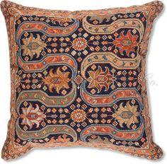 Persian Design I Needlepoint Pillow -