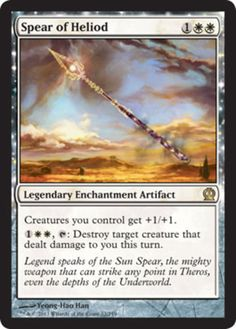 Spear-of-Heliod-x4-Magic-the-Gathering-4x-Theros-mtg-card-lot-rare-white