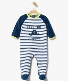 fe10e4fb6c4f6   p   p On aime ce pyjama dors-bien pont dos en velours rayé. Vous le  choisirez pour sa douceur